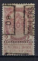 Rijkswapen Nr. 55 Voorafgestempeld Nr. 1095 A  ROULERS 08 ; Staat Zie Scan ! - Roller Precancels 1900-09
