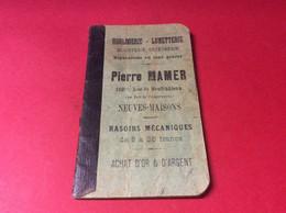 ♦️NEUVES MAISONS. Calepin Publicité Année 1914 - Neuves Maisons