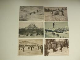Beau Lot De 20 Cartes De France  Sport D' Hiver  Ski  Mooi Lot Van 20 Postkaarten Van Frankrijk  Wintersport Sport - 5 - 99 Postcards