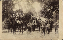 Photo CPA Potsdam In Brandenburg, Deutsche Soldaten In Uniformen, Fahrräder, Kaiserreich - Sin Clasificación