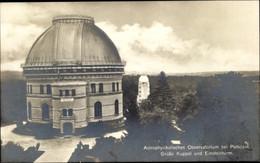 CPA Potsdam In Brandenburg, Astrophysikalisches Observatorium, Große Kuppel, Einsteinturm - Otros