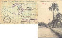 TRESOR ET POSTES AUX ARMEES MARRAKECH 25-1-18 – 23ème BATAILLON DE TIRAILLEURS SENEGALAIS => HOPITAL ST MANDRIER TOULON - Guerre De 1914-18