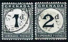 Grenada (Británica) Nº Tasa-1/2 Usado Cat.12€ - Grenada (...-1974)