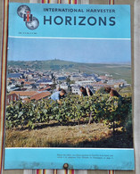 Revue HORIZONS 1963 INTERNATIONAL HARVESTER - Advertising
