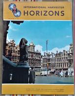 Revue HORIZONS 1964 INTERNATIONAL HARVESTER - Advertising