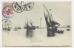CHINA JAPAN TIENTSIN 20 MAR 1904 I.J.P.A. AU RECTO CARD + TANGKU SHANGHAI - Covers & Documents