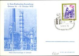 CPA Grimma In Sachsen, 6. Kreis Briefmarkenausstellung 1972, MAG Chemieanlage In Schwedt - Sonstige
