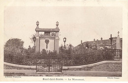 80 MESNIL SAINT NICAISE #21584 LE MONUMENT AUX MORTS - Other Municipalities