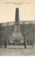 80 TEMPLEUX #21585 LE MONUUMENT AUX MORTS GUERRE 1914 1918 - Other Municipalities