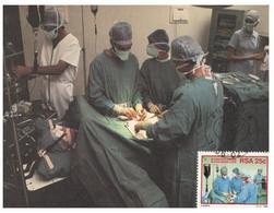 (RR 44) South Africa  / RSA - Set Of 4 Medical - Docteurs Et Infirmières / Nurses & Doctors - Medicine