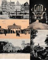 N  109 Lot 100 CPA Différentes D Allemagne - 100 - 499 Cartoline