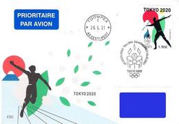 Estonia Estland Estonie 2021 (11) Summer Olympic Games - Tokyo 2020 / 2021 (FDC) - Estland
