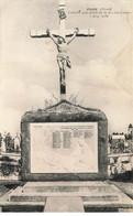 02 JUSSY #21254 LE CALVAIRE AUX MORTS DE LA GRANDE GUERRE 1914 1918 - Other Municipalities