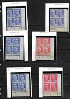 Lot Coins Datés  Neufs * Marianne De GANDON - 1950-1959