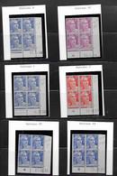 Lot Coins Datés  Neufs ** Marianne De GANDON - 1950-1959