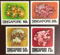 Singapore 1979 Orchids Flowers MNH - Orchideen