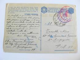 POSTA MILITARE 97   ALTAMURA 68° BATTAGLIONE SQUADRISTI TOSCANI 2°COMPAGNIA   LOTTO ALTA - War 1939-45