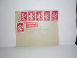 Brief Spoedbestelling Turnhout Helipost Naar Zwitserland - Airmail