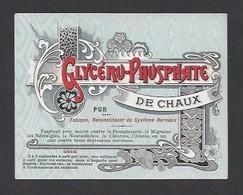Etiquette De Glycéro Phosphate De Chaux Pur - Non Classés