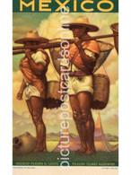 MEXICO TOURIST ASSOCIATION ADVERTISING OLD COLOUR POSTCARD OFFSET GALAS - Messico