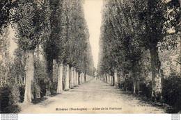 D24  RIBÉRAC  Allée De La Fortune - Riberac