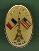 PARIS AIR SHOW 1987 SWEDLOW *** 2114 (15-5) - Aerei