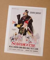 Affiche - Affichette - Poster Scaramouche - Avec Gérard Barray, Michèle Girardon De Antonio Isasi Isasmendi - Posters