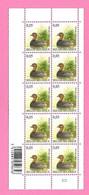 5483  -+-  BELGIQUE - 2010  N°  3993  Oiseaux De Buzin  Bloc De 10 Timbres  Neufs - Collections