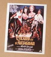 Affiche - Affichette - Poster Cyrano Et D'Artagnan Avec José Ferrer, Jean-Pierre Cassel D'Abel Gance - Posters