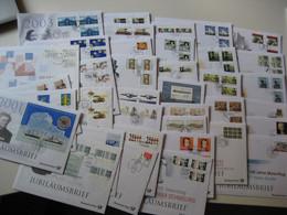 Dt. Post Jubiläumsbriefe 2001-2009 45 Stück (17581) - FDC: Briefe