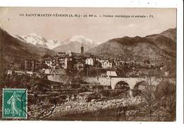 06 - SAINT MARTIN VESUBIE - Vue Générale - 9047 - Saint-Martin-Vésubie