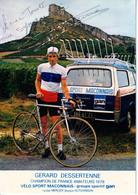 DESSERTENNE Gérard Champion De France - Ciclismo