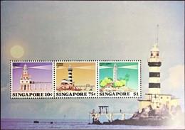 Singapore 1982 Lighthouses Minisheet MNH - Singapore (1959-...)