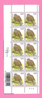5494  -+-  BELGIQUE - 2002  N°  3135  Oiseaux De Buzin  Bloc De 10 Timbres  Neufs  (SIGNe BUZIN) - Collections