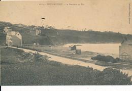 Douarnenez (29 Finistère) La Descente Au Ris - Coll. Villard N° 6733 Circulée 1913 - Douarnenez