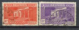 REUN Yv. N° 144,145   (o)   1f50,1f ,75  Musée  Cote  1,2 Euro BE - Gebraucht