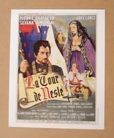 Affiche - Affichette - Poster La Tour De Nesle Avec Pierre Brasseur, Silvana Pampanini D'Abel Gance - Posters