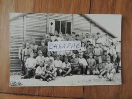 MAILLY LE CAMP - CARTE PHOTO MILITAIRE - SOLDATS EN 1932 DU 131eme REGIMENT - D INFANTERIE D ORLEANS ?? - MILITARIA - Mailly-le-Camp