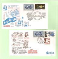 Cassini. 2 Env: Sonde Vers Vénus. 15 Oct. 1977 - 26 Avril 1998 - Stati Uniti