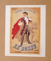 Affiche - Affichette - Poster Le Bossu Avec Pierre Blanchar, Paul Bernard, Yvonne Gaudeau De Jean Delannoy - Posters