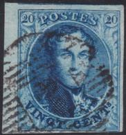 Belgie   .  OBP   .   7       .      O .    Gebruikt  . / .   Oblitéré - 1851-1857 Medallions (6/8)