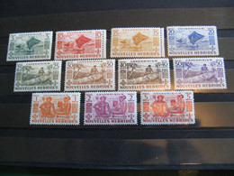 NOUVELLES HEBRIDES POSTE ORDINAIRE N° 144/154 TIMBRES NEUFS** LUXE COTE 67,50 EUROS - Unused Stamps