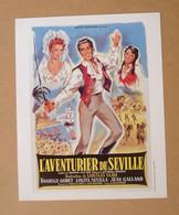 Affiche - Affichette - Poster L'Aventurier De Séville Avec Luis Mariano, Lolita Sevilla De Ladislas Vajda - Posters