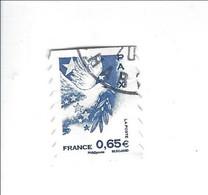 Marianne Et Les Valeurs De L'Europe Adhésif N° 182 Oblitéré 2008 - Luchtpost