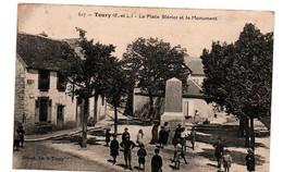 TOURY LA PLACE BLERIOT TRES ANIMEE - Andere Gemeenten