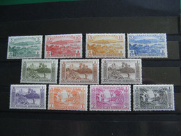 NOUVELLES HEBRIDES POSTE ORDINAIRE N° 175/185 TIMBRES NEUFS* LUXE COTE 52,00 EUROS - Unused Stamps