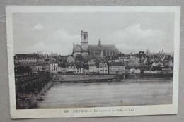 CPA - NEVERS - LA LOIRE ET LA VILLE - 109 - Nevers