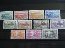 NOUVELLES HEBRIDES POSTE ORDINAIRE N° 186/196 TIMBRES NEUFS** LUXE COTE 57,50 EUROS - Unused Stamps