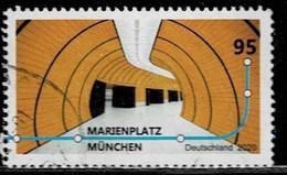 Bund 2020,Michel# 3538 O U-Bahn München - Gebruikt