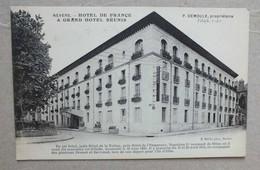 CPA - NEVERS - HOTEL DE FRANCE & GRAND HOTEL REUNIS - Nevers